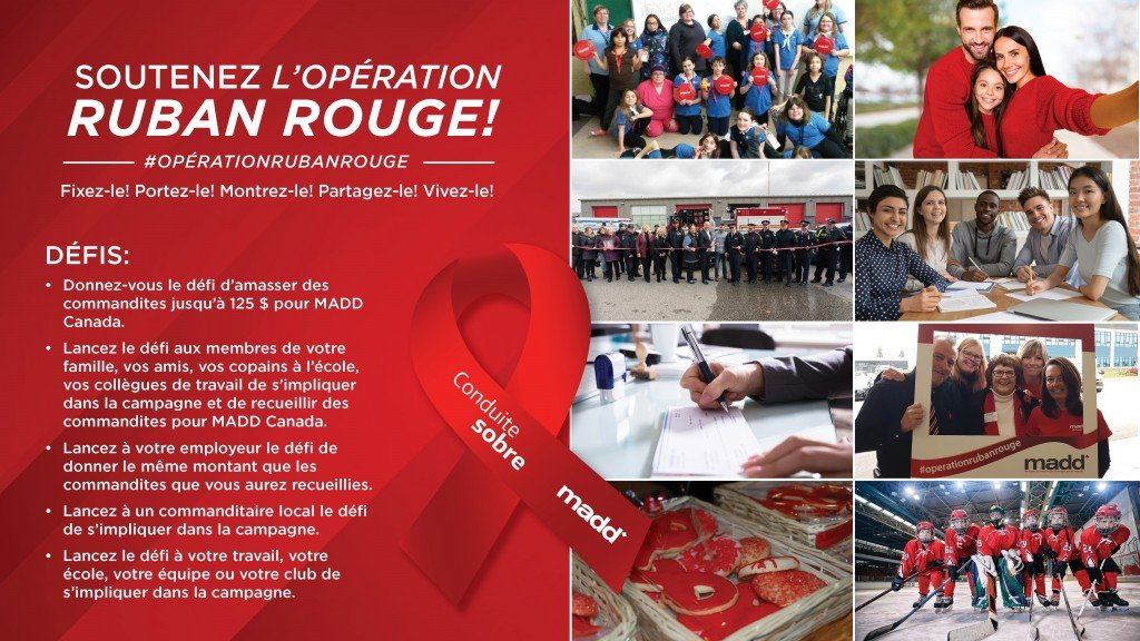 Soutenez L'Opeation Ruban Rouge !